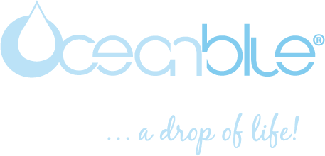 Ocean Blue Medical Research Center logo and tagline
